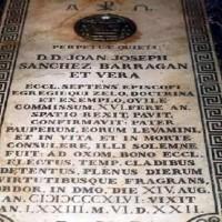 Sepulcro en Ceuta del Obispo Barragán