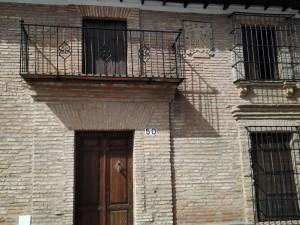 Casa de la familia Alvarado. Calle Iglesia nº 50
