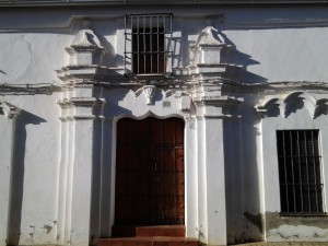 Casa de la familia Guzmán. Calle Obispo Barragán nº 4. S. XVIII