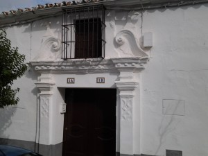 Casa en Calle Cerro Primero nº 1. S. XVIII.