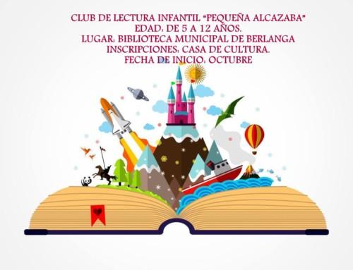 LA BIBLIOTECA PÚBLICA DE BERLANGA PONE EN MARCHA UN CLUB DE LECTURA INFANTIL
